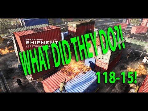 Modern Warfare: What Did They Do To Shipment?! Juggernaut Gameplay! 118-15