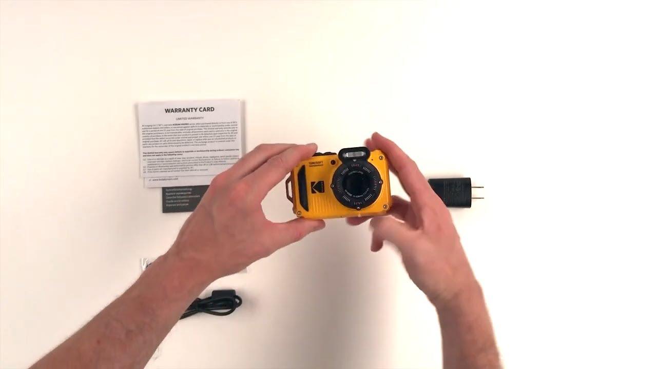Unboxing - KODAK PIXPRO WPZ2 Digital Camera
