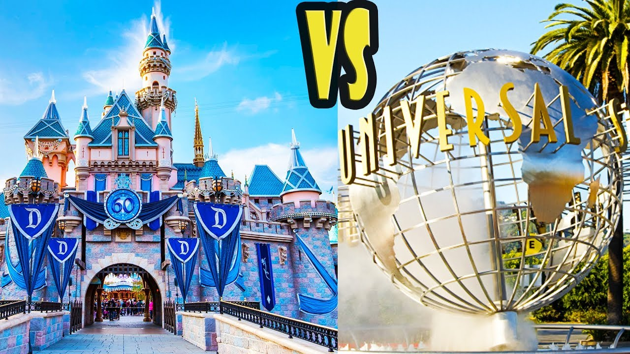 Disneyland Vs Universal Studios Hollywood 10 Differences Youtube
