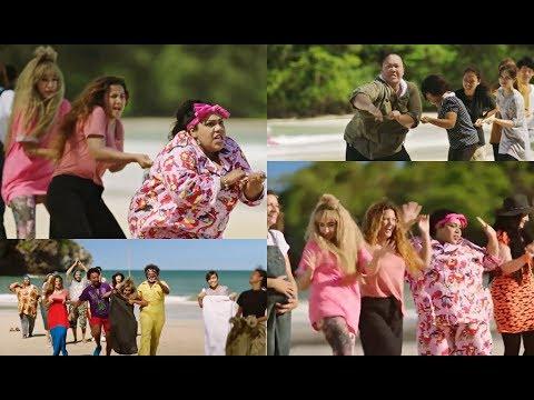 مسخرة 😂😂 مسابقة لعب ورقص بين المصريين والصينيين .. فرتكة فرتكة #في_ال_لالا_لاند
