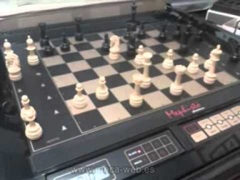Mephisto phantom robot chess computer youtube Where can i buy a chess game