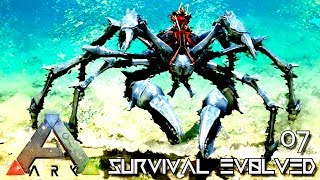 ARK: ABERRATION - KARKINOS TAMING PERFECT 150 GIANT CRAB E07 ( GAMEPLAY ARK: SURVIVAL EVOLVED ) !!!