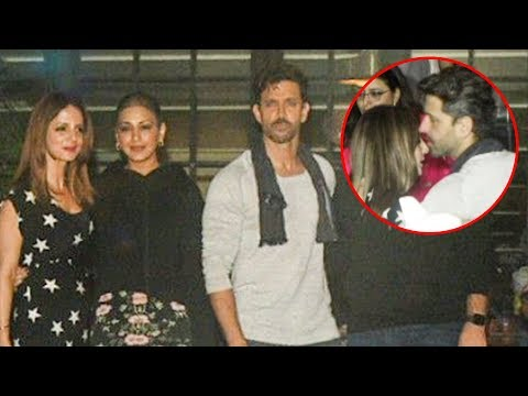 Ex Wife Sussanne, Sonali Bendre Together At Hrithik Roshan Birthday Bash Mp3