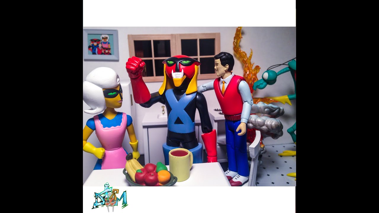 Brak And Zorak Art Asylum Figure Reviews Space Ghost Adult