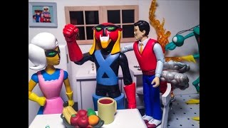 Brak and Zorak Art Asylum Figure reviews Space Ghost Adult Swim Cartoon Network