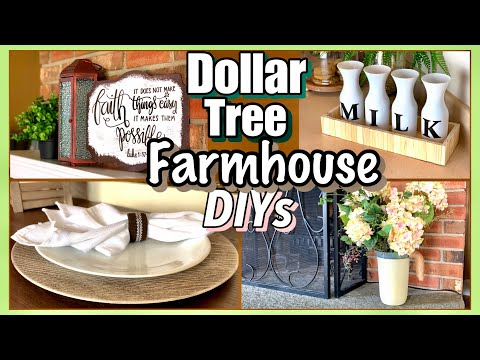 Dollar Tree DIY FARMHOUSE Decor