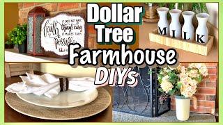 Dollar Tree DIY FARMHOUSE Decor