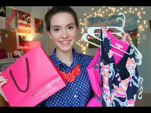 Haul- Lilly Pulitzer and Kate Spade!