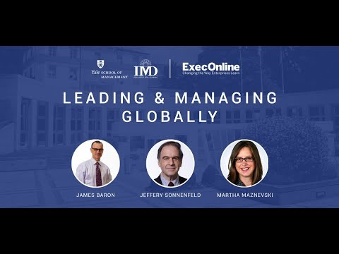 Leading and Managing Globally | ExecOnline