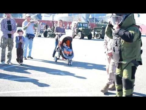 US Marine Corps EOD Demonstration - Fleet Week 2012