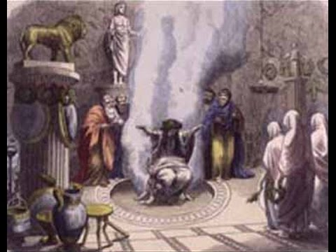 Events of the 760s BC The Oracle of Delphi