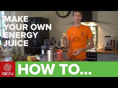 Make Your Own All Natural Energy Drink - How To Make Juice For Use During Exercise