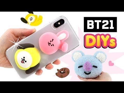BTS DIYs für K-POP ARMY Koya Cooky von BT21 Geschenke basteln Kawaii für Mädchen Deutsch