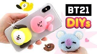 BTS DIYs für K-POP ARMY!!! Koya Cooky von BT21 Geschenke basteln! Kawaii für Mädchen! Deutsch