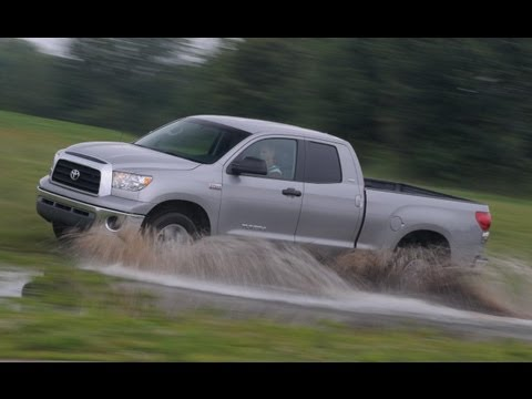 2007 Toyota Tundra Car And Driver Youtube