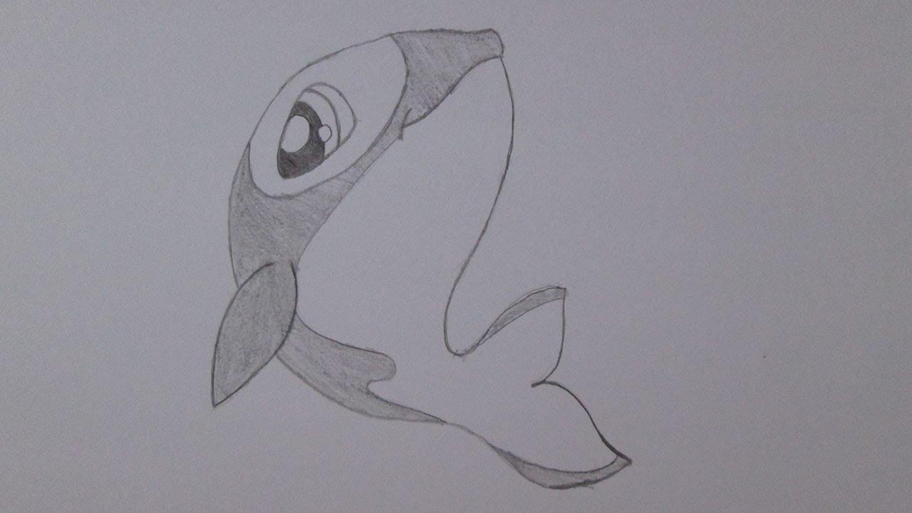 Cómo dibujar una ballena asesina - YouTube