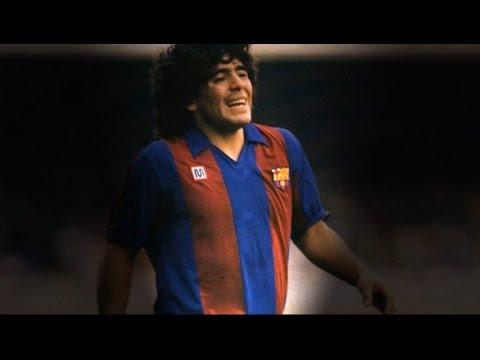 Maradona - Barcelona - Top 10 Goals