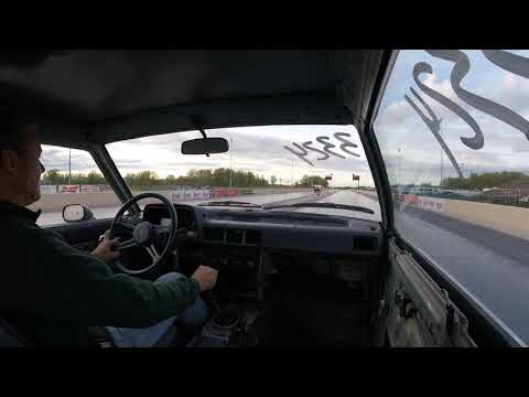 81 Mazda 626 1/4 mile -- ( Summit ) Norwalk Raceway