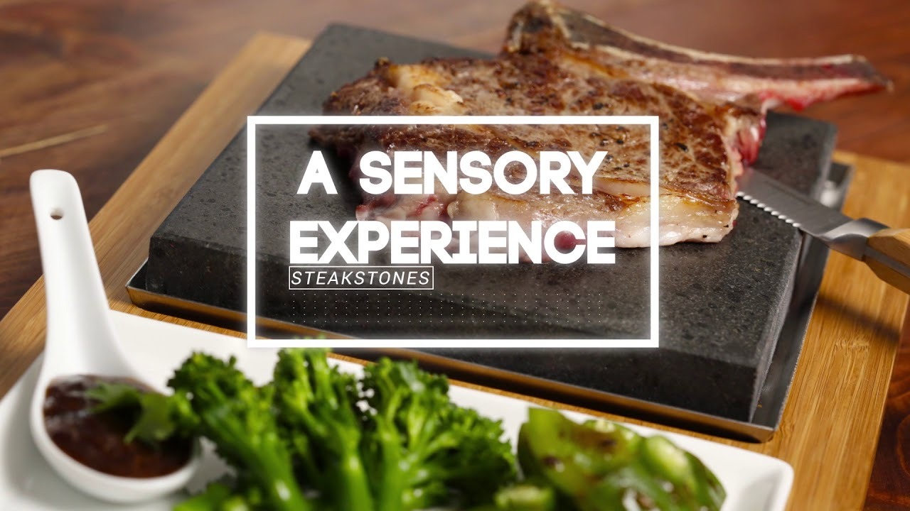 The SteakStones Steak Plate Set video thumbnail