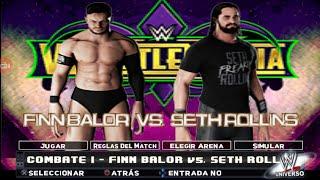 Finn Balor vs Seth Rollins w2k18 android