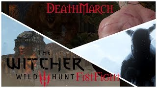 Witcher 3: Deathmarch Fist fight with Bear,Ghost and Troll.