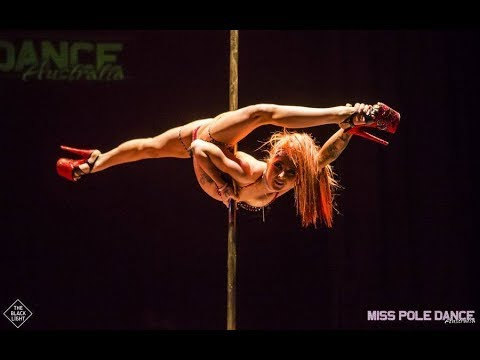 WINNER - MISS POLE DANCE AUSTRALIA 2018 - AMY HAZEL