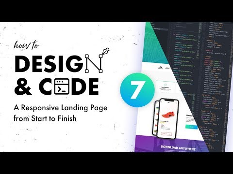 Design & Code a Responsive Landing Page from Start to Finish