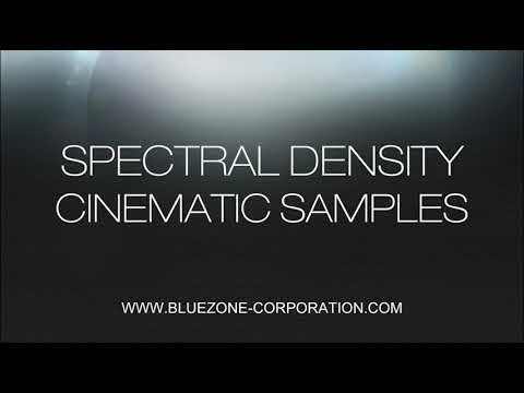 Spectral Density Cinematic Samples - Soundscapes Ambiences and Sound Effects