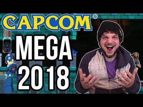 Capcom's MEGA 2018 - Mega Man 11 is COMING   RGT 85