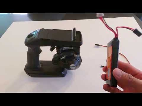 Super Easy LiPo Battery Modification for Yuneec Steadygrip Handheld Gimbal