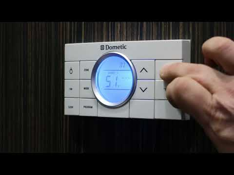 Dometic Thermostat Control in an Airstream International Signature