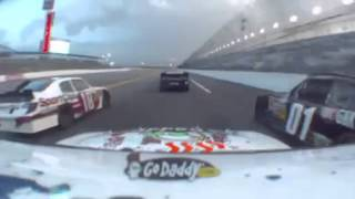 Danica Patrick Killing it @Daytona (onboard)