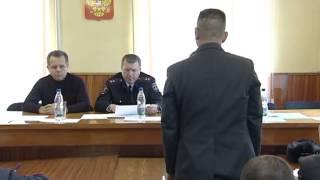Генерал Бородин наказал руководителей ОВД Режа