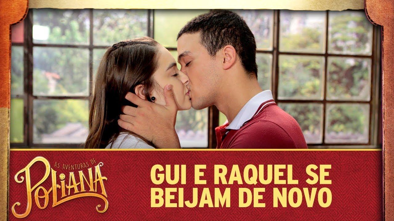 Gui e Raquel se beijam de novo | As Aventuras de Poliana