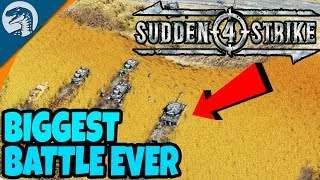 LARGEST TANK DEFENSE IN HISTORY, KURSK | Sudden Strike 4 German Campaign Gameplay 6