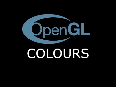 Modern OpenGL 3.0+ [LIGHTING] Tutorial 7 - Colours