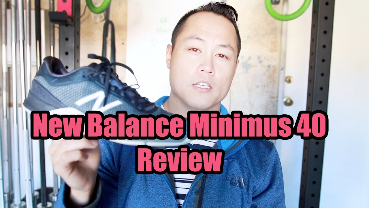 cd1bf3f72 New Balance Minimus 40 Training Shoe Review - YouTube