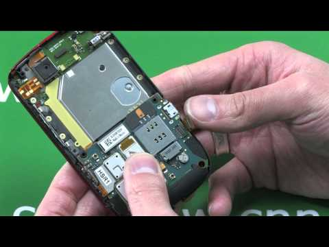 BlackBerry Torch 9800 assembly tutorial
