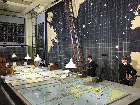 Battle of the Atlantic Western Approaches Museum Underground Bunker in  liverpool