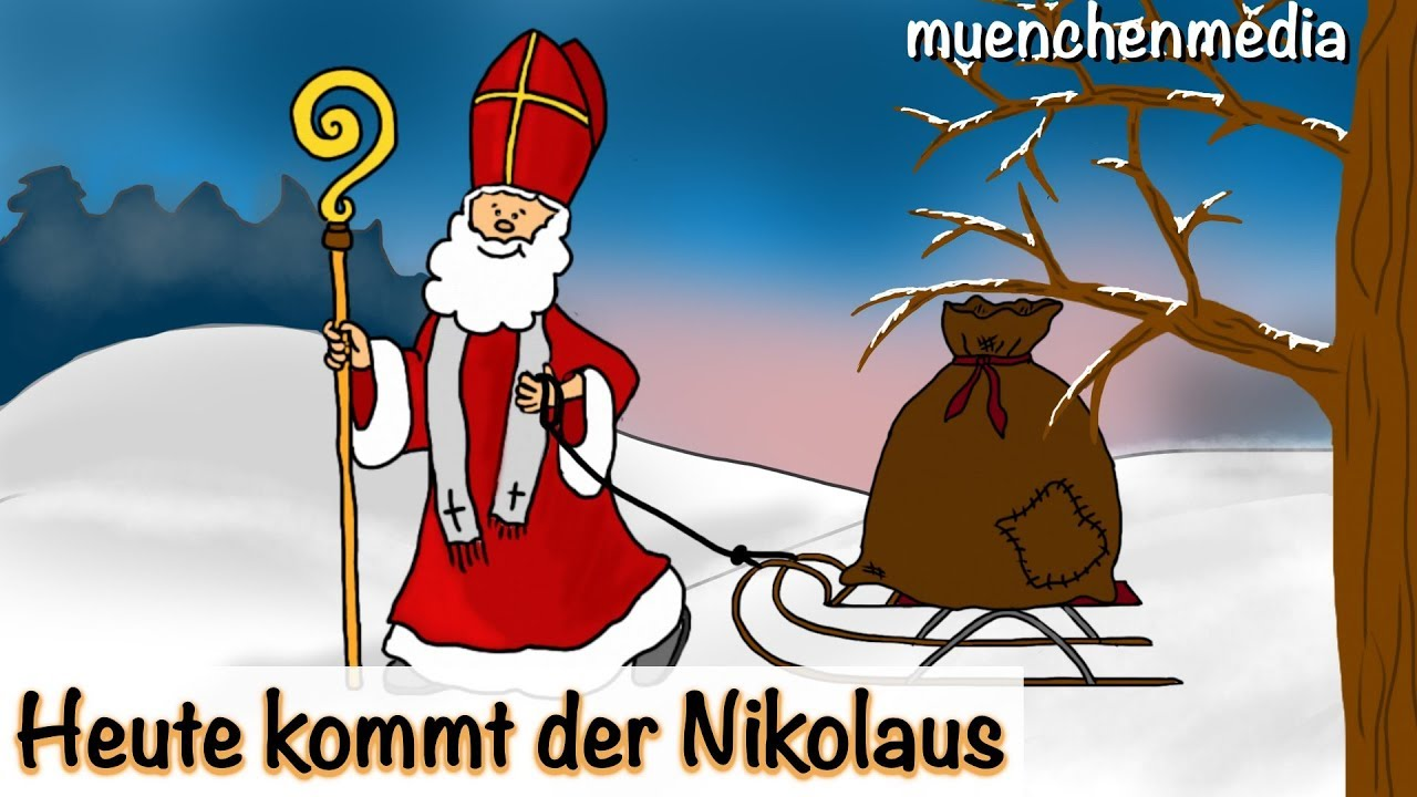 nikolaus lied heute kommt der nikolaus weihnachtslieder deutsch kinderlieder deutsch. Black Bedroom Furniture Sets. Home Design Ideas