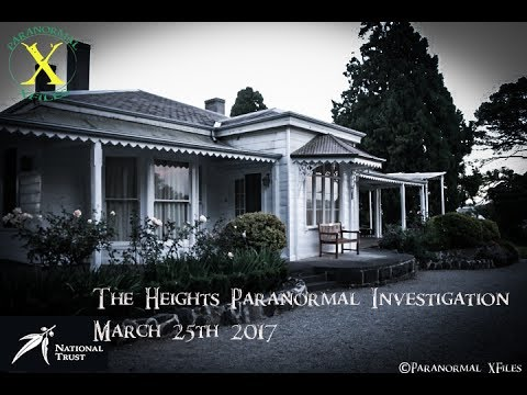 NATIONAL TRUST OF VICTORIA PARANORMAL TOUR:The Heights 2017