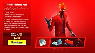 "How To Get ""INFERNO PACK"" for FREE in Fortnite! NEW INFERNO SKIN BUNDLE! (Fortnite Inferno Pack)"