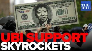 Support for UBI skyrockets in crisis