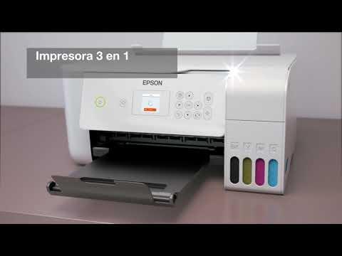 Llega la impresora EcoTank ET-2726 3 en 1: impresión, copia y escaneado.