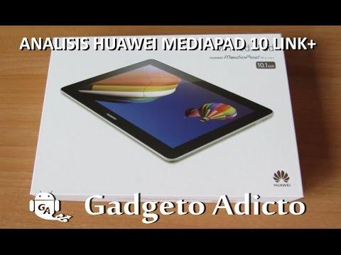 Análisis Huawei Mediapad 10 Link+ (En Español)
