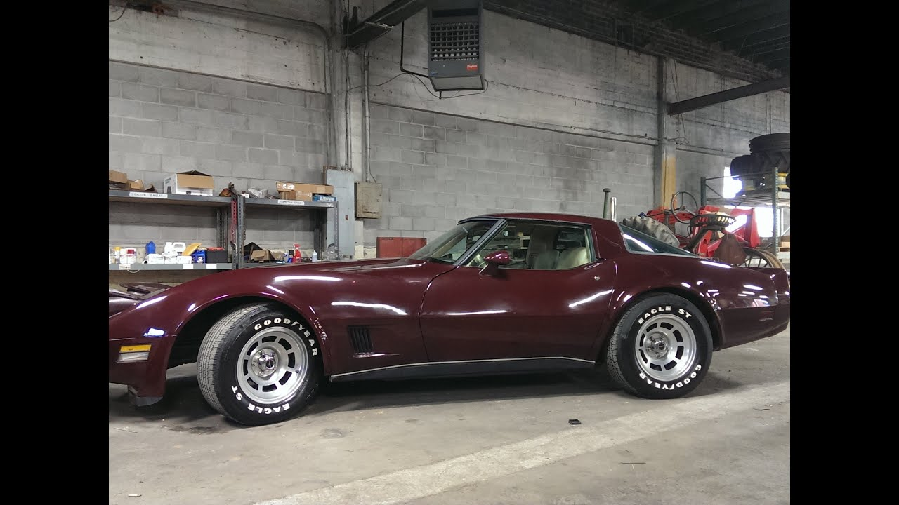 Chevrolet Corvette Stingray >> 1980 Corvette Stingray Car - only 52,886 original miles, 2 owner car. - YouTube