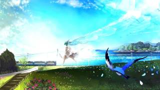【初音ミク - Hatsune Miku】Green Hill Zone【Crystiara Remix】