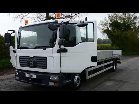 MAN TGL Scaffold Lorry 12t