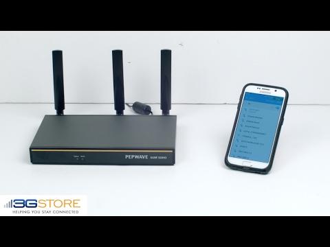 Pepwave Surf SOHO MK3 WiFi As WAN Speed Test