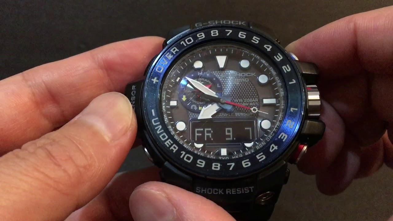 online retailer f4572 eff4c CASIO G-SHOCK ガルフマスター GULFMASTER GWN-1000B-1AJP
